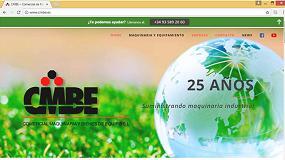 Foto de CMBE estrena nueva página web para celebrar sus 25 años suministrando maquinaria industrial
