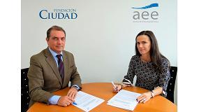 Foto de Fundación Ciudad y AEE firman un convenio marco de colaboración para el desarrollo de acciones relacionadas con la ciudad y la energía