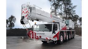 Foto de Kohlbacher GmbH gana en rendimiento con la adquisición de una grúa móvil Tadano ATF 110G-5