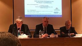 Foto de La administración sectorial se da cita en el 'Foro Nacional de Rehabilitación, Eficiencia y Sostenibilidad' organizado por Anerr y el Colegio de Aparejadores de Madrid