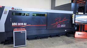 Foto de Amada presenta en sus instalaciones de Barcelona la nueva láser fibra LCG-3015AJ de 9 kW