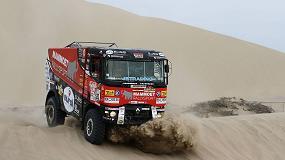Foto de Tres camiones Renault Trucks participan en el Dakar 2018