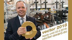 Foto de Premios Vector: un reconocimiento de oro para los sistemas de suministro de energía más ingeniosos