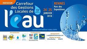 Foto de Molecor estará presente en la feria 19ème Carrefour des Gestions Locales de l'Eau en Rennes, Francia