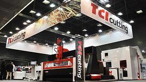Foto de Las máquinas de corte por agua y láser de TCI Cutting, en las principales ferias internacionales de 2018