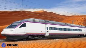 Foto de Apolo garantiza sistemas de fijación en el núcleo del ferrocarril de alta velocidad Medina-La Meca