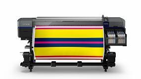 """Foto de Epson SureColor SC-F9300: impresión textil """"rápida y de calidad superior"""""""