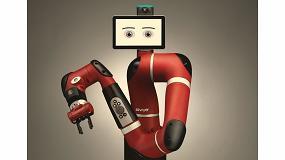 Foto de Sawyer, el robot colaborativo capaz de maniobrar en espacios reducidos