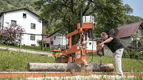 Foto de Wood-Mizer presenta en FIMMA sus aserraderos para pymes