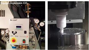 Foto de Mecanizado criogénico: Fabricación ECO2