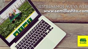 Foto de Semillas Fitó renueva su web con una imagen actual y ofreciendo una información completa destinada al profesional