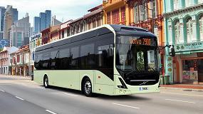 Picture of Volvo y la NTU testarán los autobuses autónomos eléctricos en Singapur