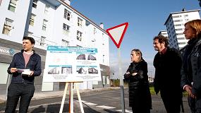 Foto de La Xunta de Galicia invierte para incrementar la eficiencia energética de 116 viviendas de promoción pública en Santiago de Compostela