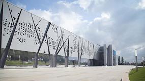 Foto de La fachada ventilada Ark-WalL, de Isopan, en el nuevo museo de historia rusa de Volgogrado