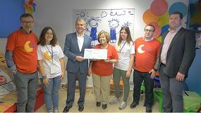 """Picture of Palletways Iberia considera """"un éxito"""" su acción de RSC 'Árbol de Navidad Solidario'"""