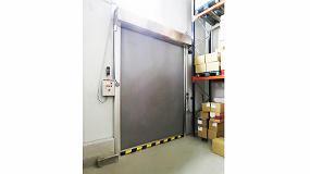 Foto de Ferroflex presenta su nueva puerta rápida para cámaras de frío