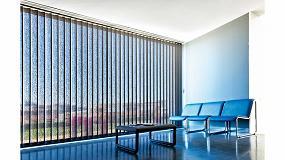 Foto de La cortina vertical Saxun proporciona a las empresas la personalidad que necesitan