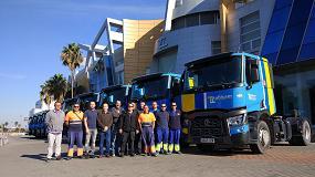 Foto de Tabisam, especialista en transporte para la construcción, adquiere 10 nuevas tractoras Renault Trucks T
