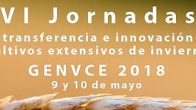 Foto de Las VI Jornadas Genvce de Transferencia e Innovación en Cultivos Extensivos de Invierno se celebrarán en mayo en Madrid