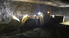 Foto de Caterpillar desarrolla un innovador concepto de cargadora eléctrica para minería subterránea