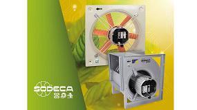 Foto de Sodeca presenta los nuevos ventiladores eficientes 'Efficient Work'