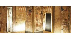 Foto de Canon reproduce obras del Antiguo Egipto con tecnología de impresión elevada