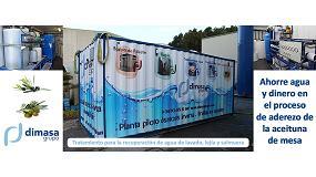 Foto de El tratamiento de aguas residuales de Dimasa Grupo recupera agua limpia, lejía y salmuera