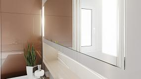 Foto de Rehau desarrolla Rauviso Crystal Mirror, laminado con efecto espejo