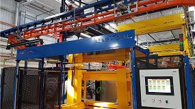 Foto de Cabycal entrega una línea automatizada de pasivado de piezas de aluminio a Gestamp