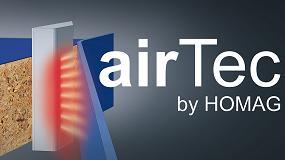 Foto de airTec: El sistema de encolado del canto con aire caliente de Homag estará en FIMMA 2018