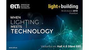 Foto de ELT estará presente en Light+Building 2018