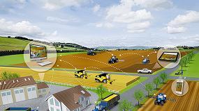 Foto de CNH Industrial establece acuerdos para ofrecer servicios de conectividad e intercambio de datos