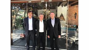 Foto de Javier Calabuig, José Horcajo y Joan Server, nuevos patronos de la Fundación Txema Elorza