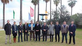 Foto de La estación experimental de BASF en Utrera recibe al consejero de Agricultura de Andalucía