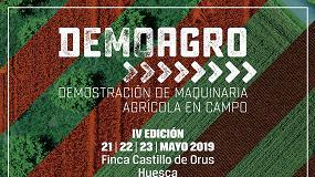 Foto de Demoagro viajará a Huesca en mayo de 2019