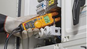 Foto de Cómo utilizar los comprobadores eléctricos T6 de Fluke para realizar mediciones precisas de tensión sin cables