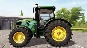 Foto de Tractor John Deere 6250R: Ligero y versátil con 300 CV