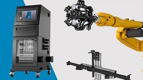 Fotografia de Nueva estación de productividad y kit de calibración MetraScan 3D R-Series de Creaform