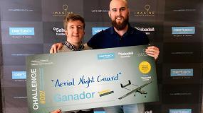 Foto de El proyecto 'Aerial Night Guard' gana la 2ª edición de Aertec Solutions Challenge