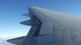 Foto de Integración de diminutos acelerómetros en las alas de las aeronaves