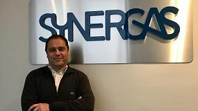 Foto de Iñaki Mediano Corrionero, nuevo director comercial de Synergas S.Coop.