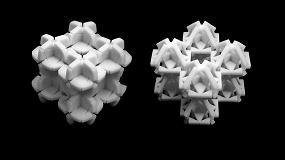 Foto de Un estudio analiza el potencial y los retos de los metamateriales mecánicos flexibles