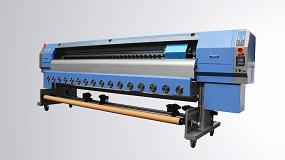 Foto de Tintas y Soporte ofrece demostraciones de sus impresoras TYS Roll-to-Roll