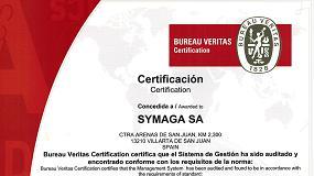Foto de Symaga consigue certificar la gestión de recursos y residuos