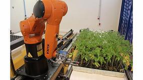Foto de Tecnova presenta el primer robot para realizar injertos de hortícolas