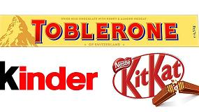 Picture of Kinder, Kit-Kat y Toblerone, los tres snacks de chocolate favoritos de los españoles