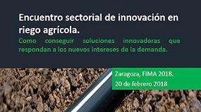 Foto de FIMA 2018: Encuentro Sectorial de Innovación en Riego Agrícola durante la jornada inaugural