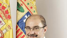 Foto de Javier Lambán Montañés, presidente de Aragón
