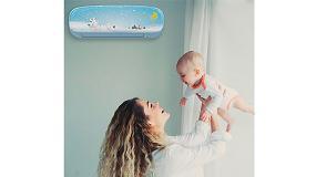 Foto de Midea Kid Star, el aire acondicionado con bomba de calor diseñado para la habitación de los niños