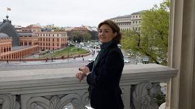 Fotografia de Isabel García Tejerina, ministra de Agricultura y Pesca, Alimentación y Medio Ambiente